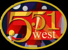 551 West