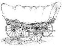 The American dream came by wagon