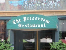 The Pressroom Restaurant